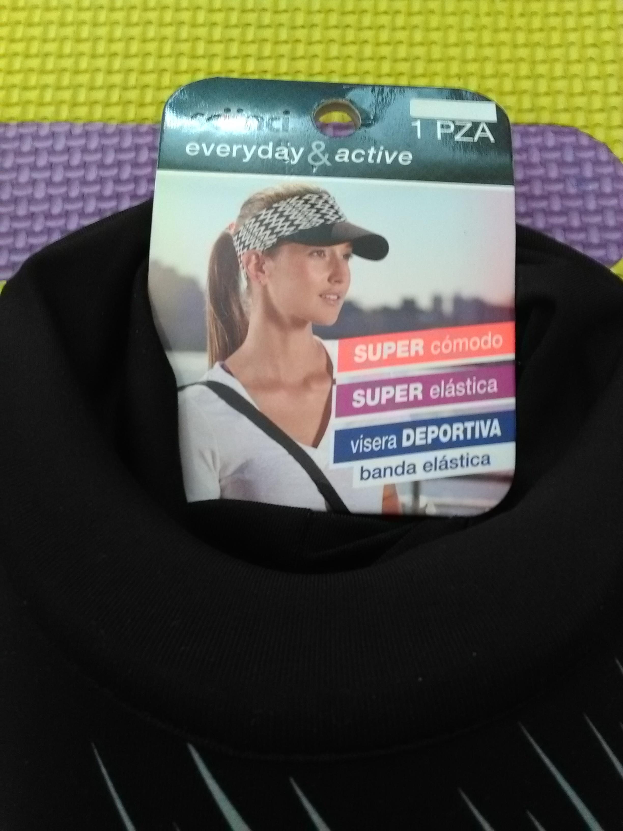 Walmart : Visera deportiva Scünci a $17.01