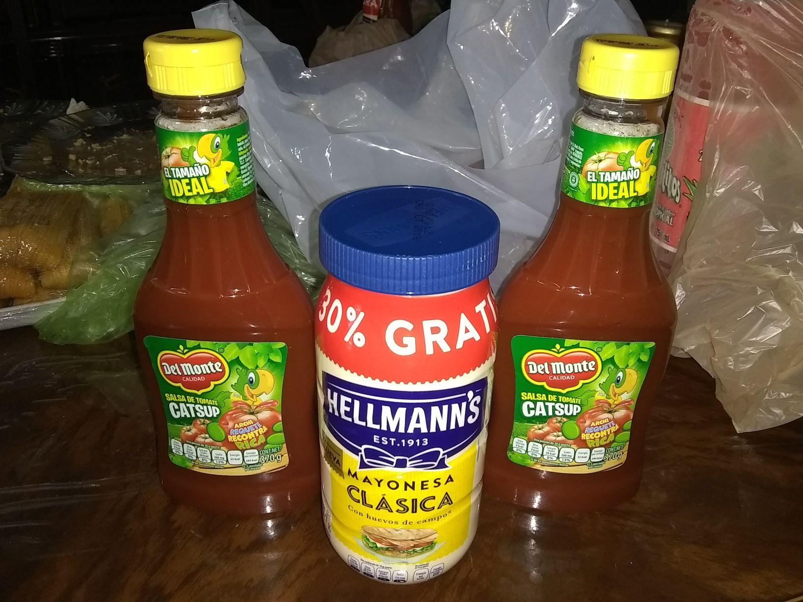 Soriana: Compra Mayonesa Hellmann's de 507g y llévate gratis 2 Catsup del Monte de 370g c/u
