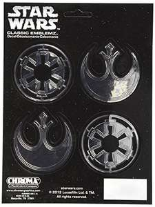 Amazon: Chroma 8128 Star Wars Badge Classic Emblem Decal