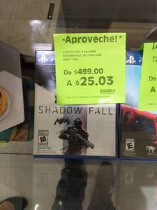 La Comer Zaragoza, Querétaro: Killzone Shadow Fall PS4