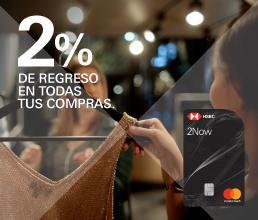 HSBC ofrece nueva tdc que regresa el 2% en efectivo
