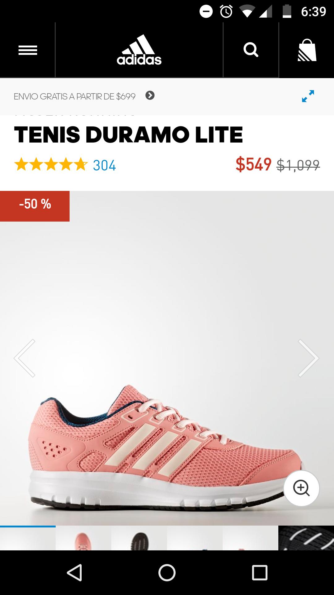 Adidas: Tenis Duramo Lite