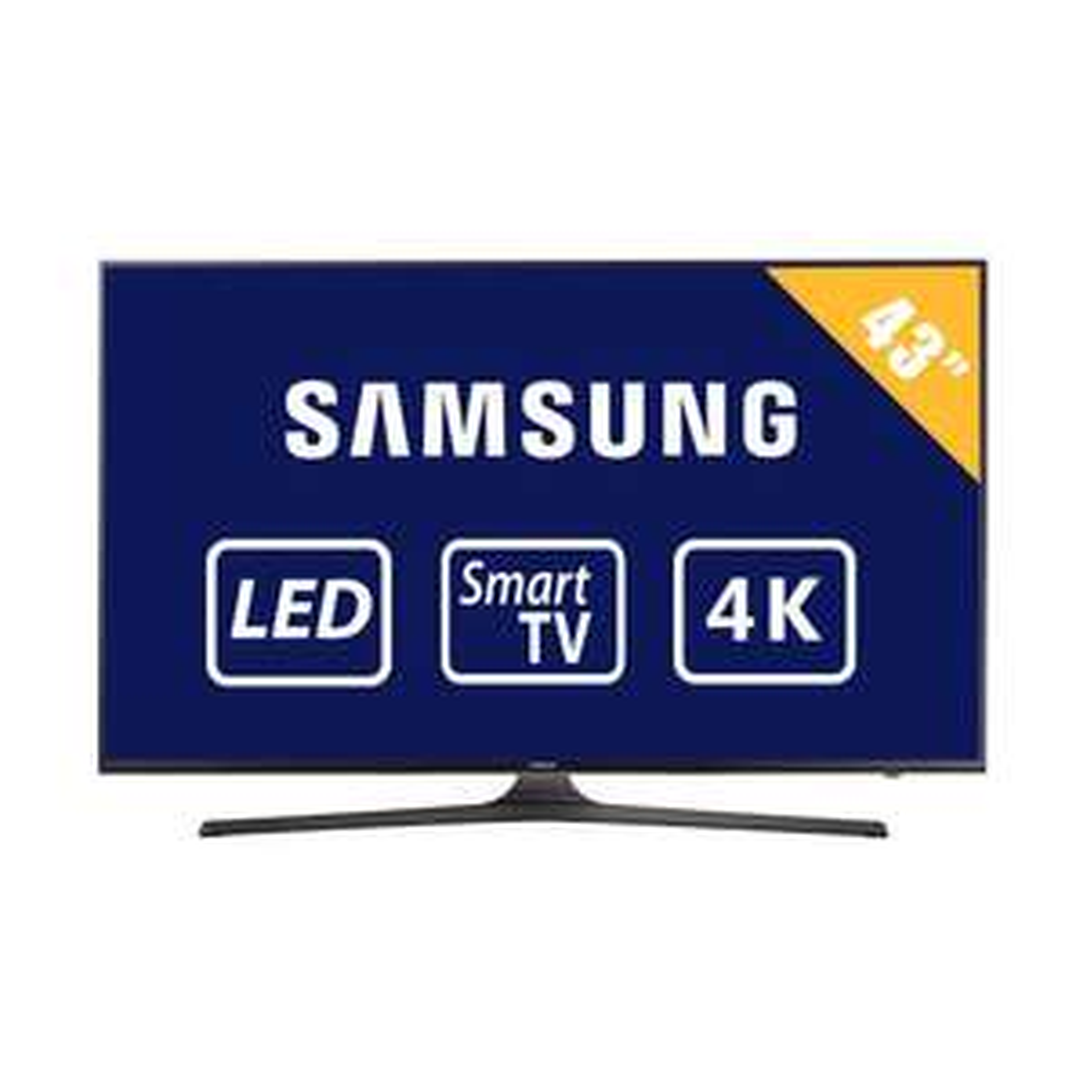 Walmart: Pantalla 43'' 4K Samsung UN43MU6103FXZX
