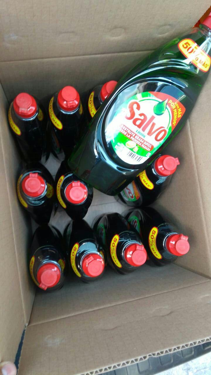 Bodega Aurrerá: Salvo Liquido 900ml. $10.03