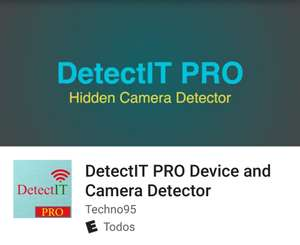 Google Play: DetectIT PRO Device and Camera Detector