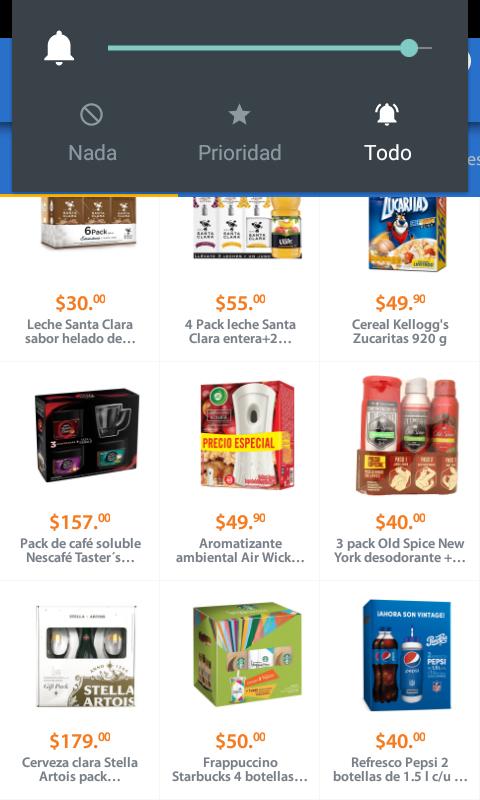 Walmart en linea: diferentes combos a precio especial