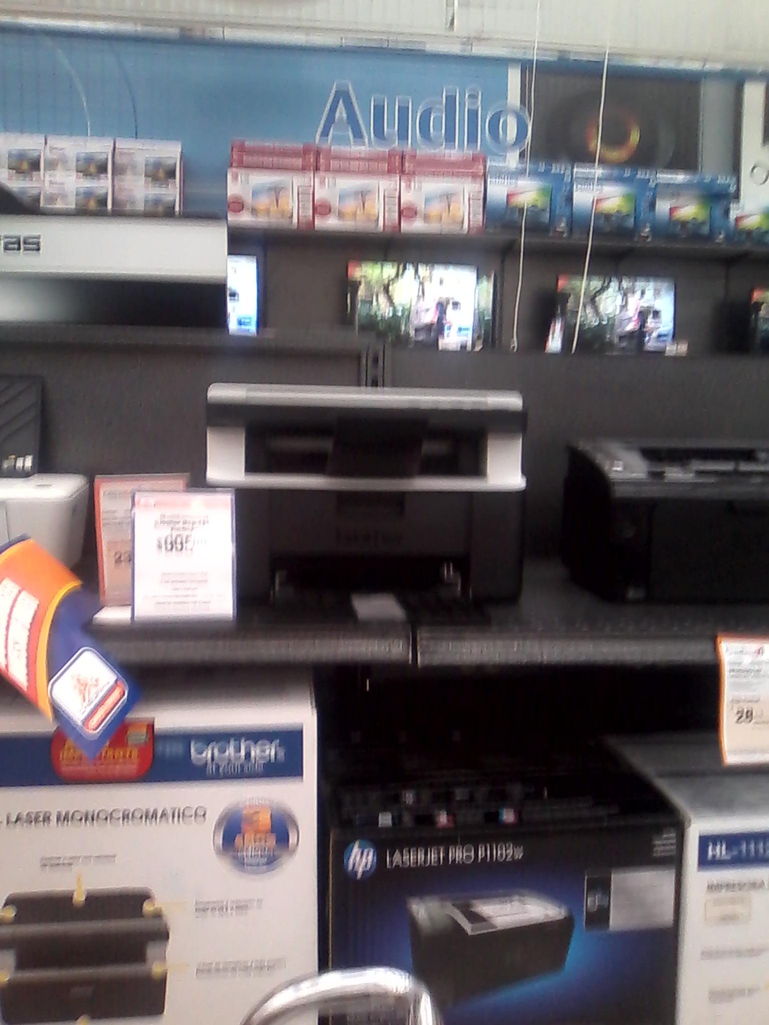 """Chedraui: Impresora multifuncional Brother DCP1512 a $989 y TV de 46"""" $5,995"""