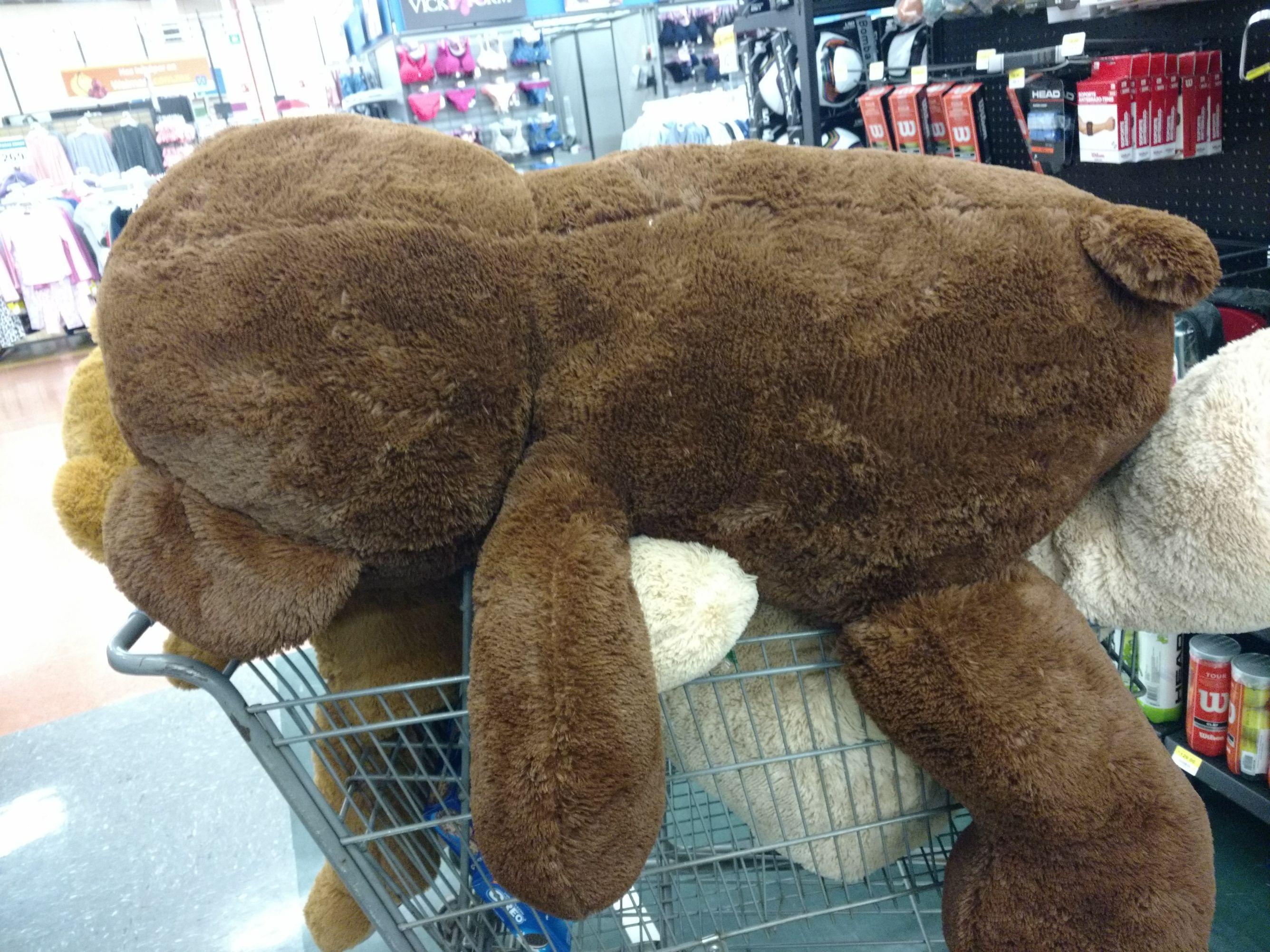 Walmart: Oso de peluche Grande