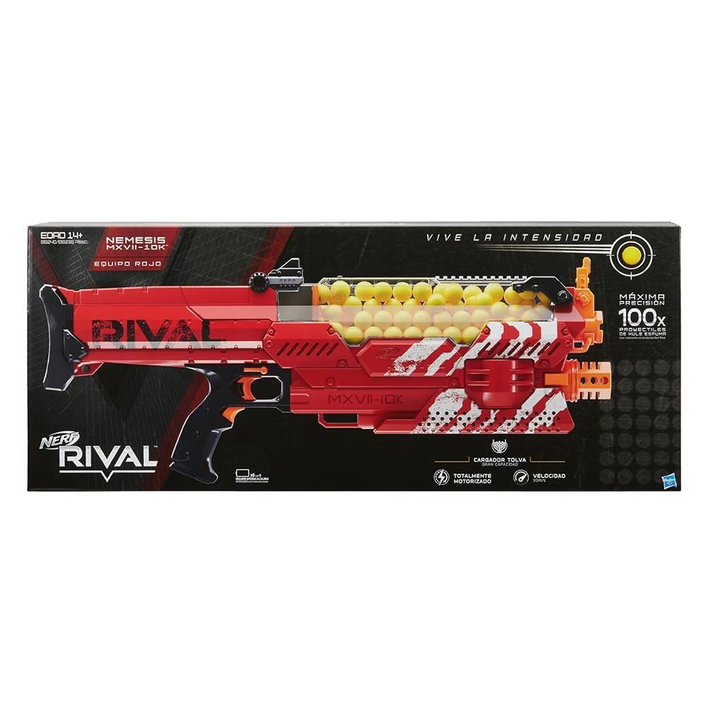 Walmart: Nerf Rival Nemesis MXVII-10K + envío $29