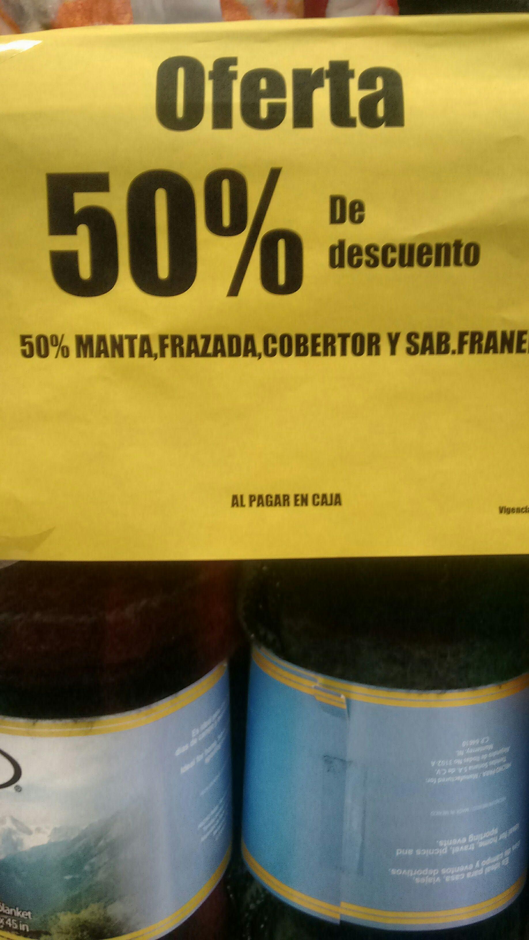 Soriana: 50% en cobertor ,frazadas , sábanas y más
