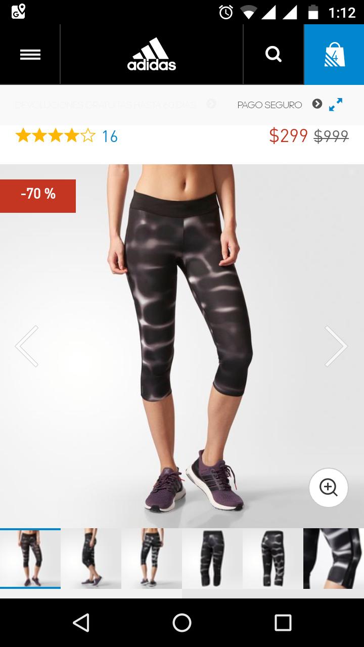 Adidas: Otras Mallas en la tienda Adidas online con el 70%