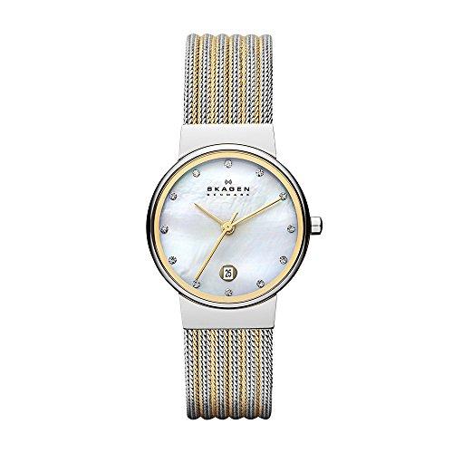 Amazon: Skagen 355SSGS Reloj Ancher, Análogo, Redondo para Mujer  PRECIO HISTORICO ;)