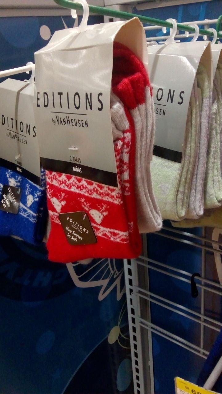 Walmart: Calcetines de niño 2 pares x $5.03