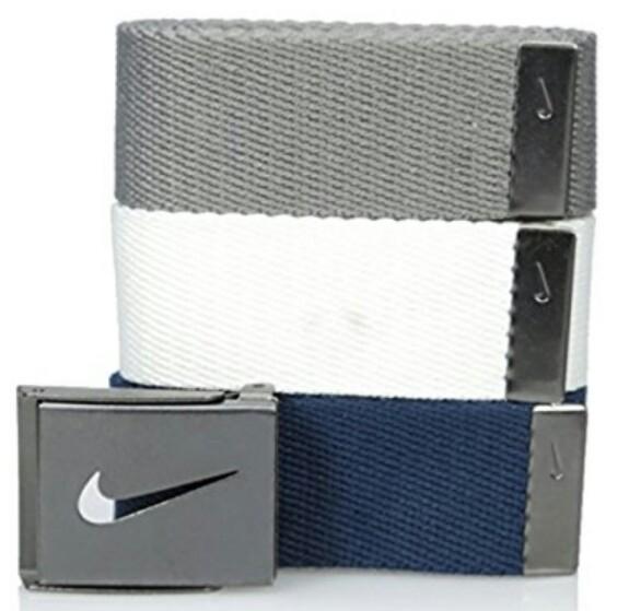 Cinturones Nike 3 en 1 a $375 pesos en amazon