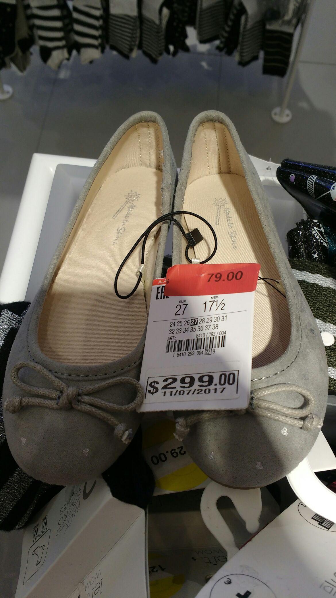 Lefties Veracruz: Zapatos niña $79, Últimas rebajas desde $39