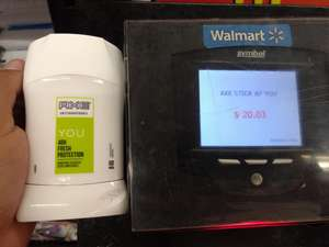Walmart: Antitranspirante Axe you a $20.03