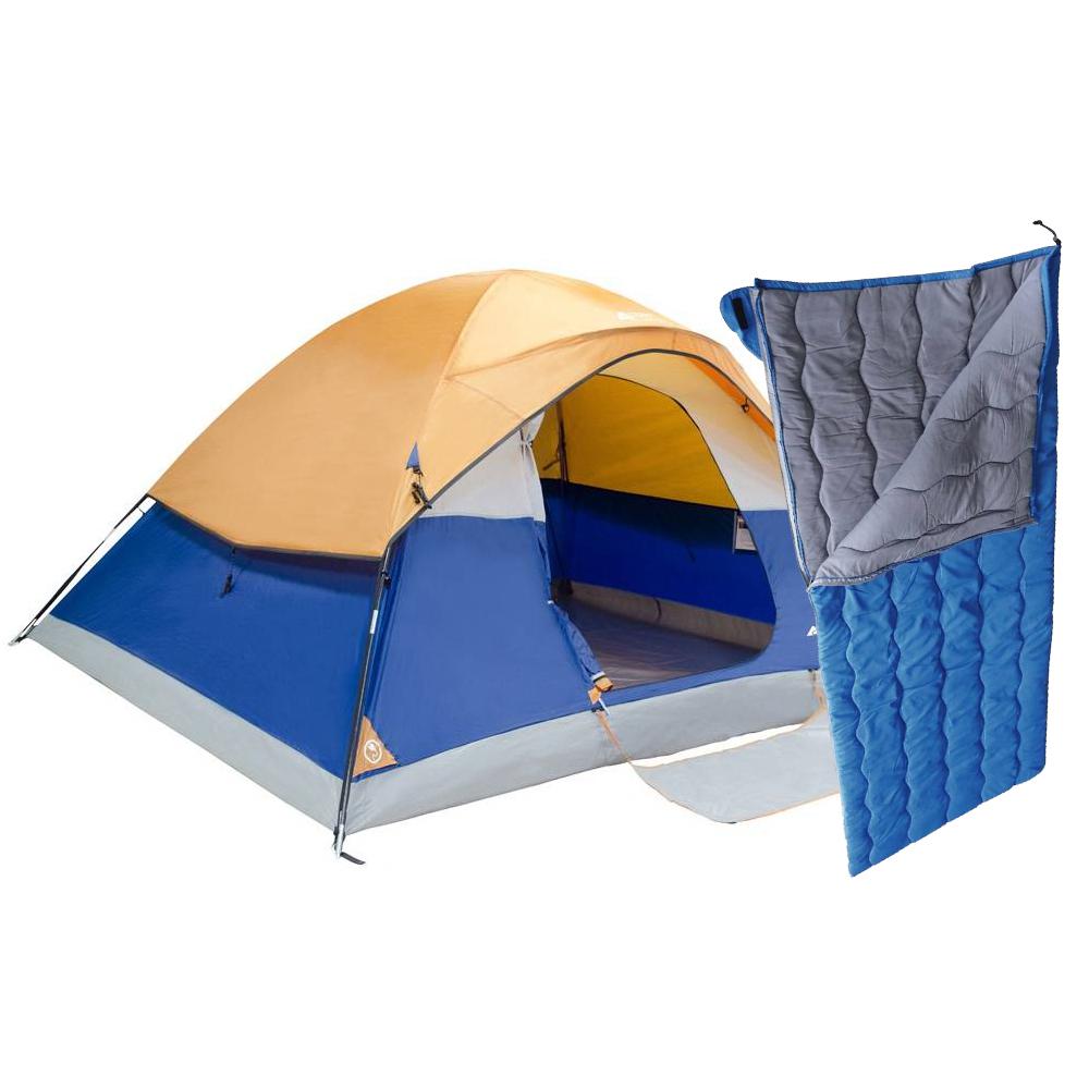 Walmart: Casa de campaña para 5 mas sleeping bag $449