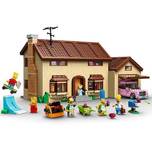Amazon: Set LEGO La Casa de The Simpsons
