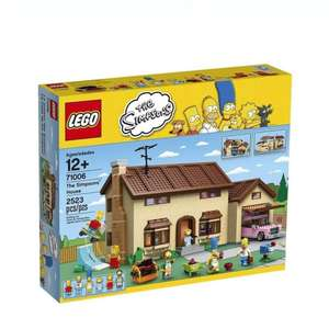 Walmart: LEGO The Simpsons House 2523 piezas
