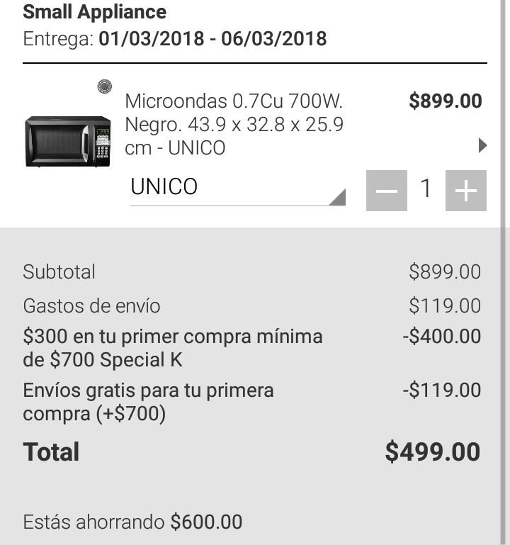 Privalia: Electrodomésticos reacondicionados: Horno de microondas en $499. Licuadora Ninja $1799 y más...