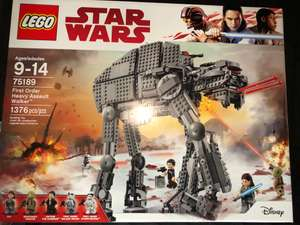 Walmart: LEGO Star Wars First Order Heavy Assault Walker
