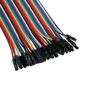Amazon: 120 Piezas de Cable DuPont, 40 Pines Elegoo