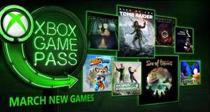 Xbox One: Xbox Game Pass Marzo