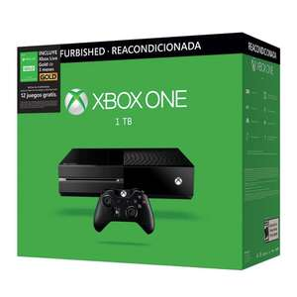 Walmart: Xbox One 1TB + 3 Meses de Xbox Live +18 MSI(Bancomer) Reacondicionada