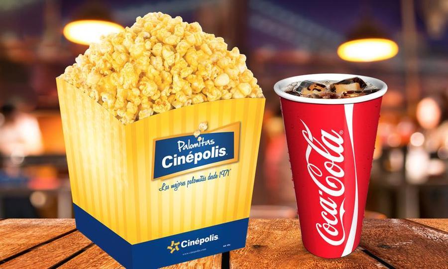 Groupon: Cinépolis Combo de dulcería a elegir