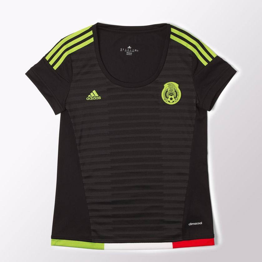 Adidas: Jersey Mujer selección mexicana con 70% solo mediana