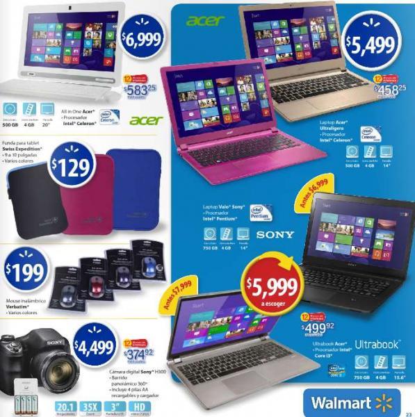Folleto de ofertas en Walmart del 15 al 27 de febrero