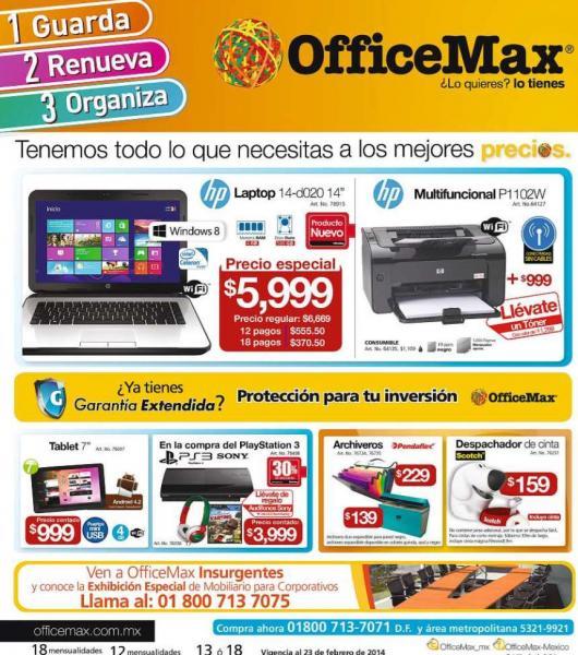 OfficeMax: PS3 de 12GB a $2,799 y audífonos Sony de regalo