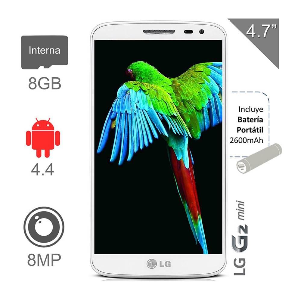 Walmart: smartphone LG G2 Mini + batería externa $2,999