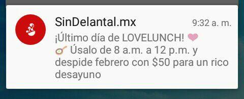 Sin Delantal: $50 pesos de descuento para el desayuno de 8am a 12pm
