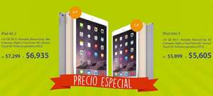 Compudabo: iPad Air 2 $6,935 y iPad Mini 3 $5,605