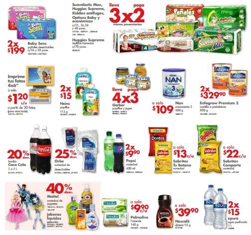 Farmacias Benavides: 3x2 en pañales, 3x2 en Ensure, 4x3 en Gerber y más