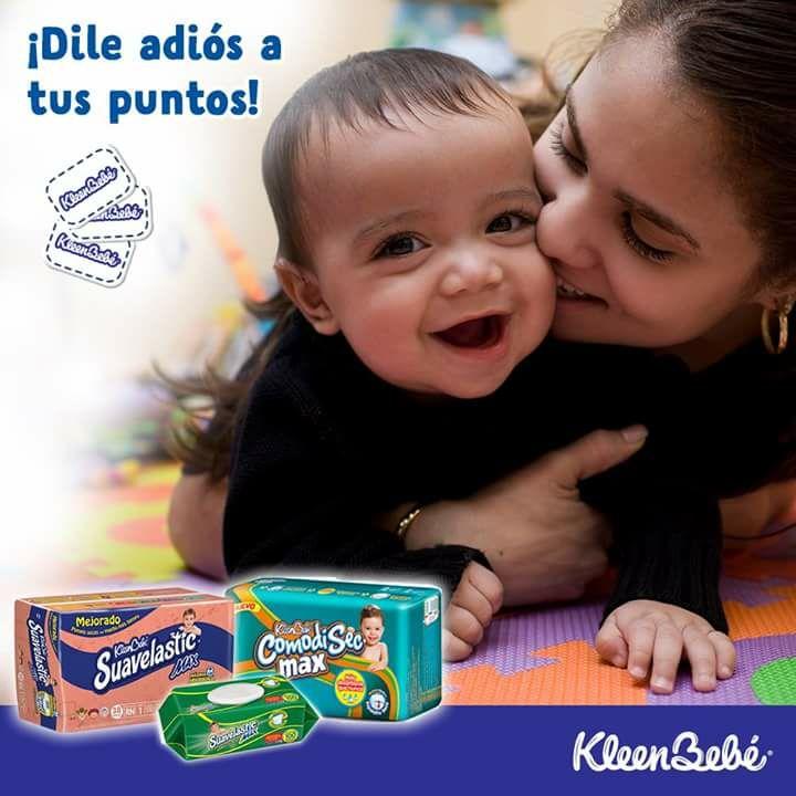 Promoción Puntos KleenBebé 2018 canje a puntos digitales en la nueva app Corazones KleenBebé