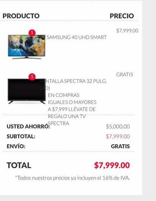 Office Depot: Pantalla Samsung 4K 40 Pulgadas UN43J5200AFXZX