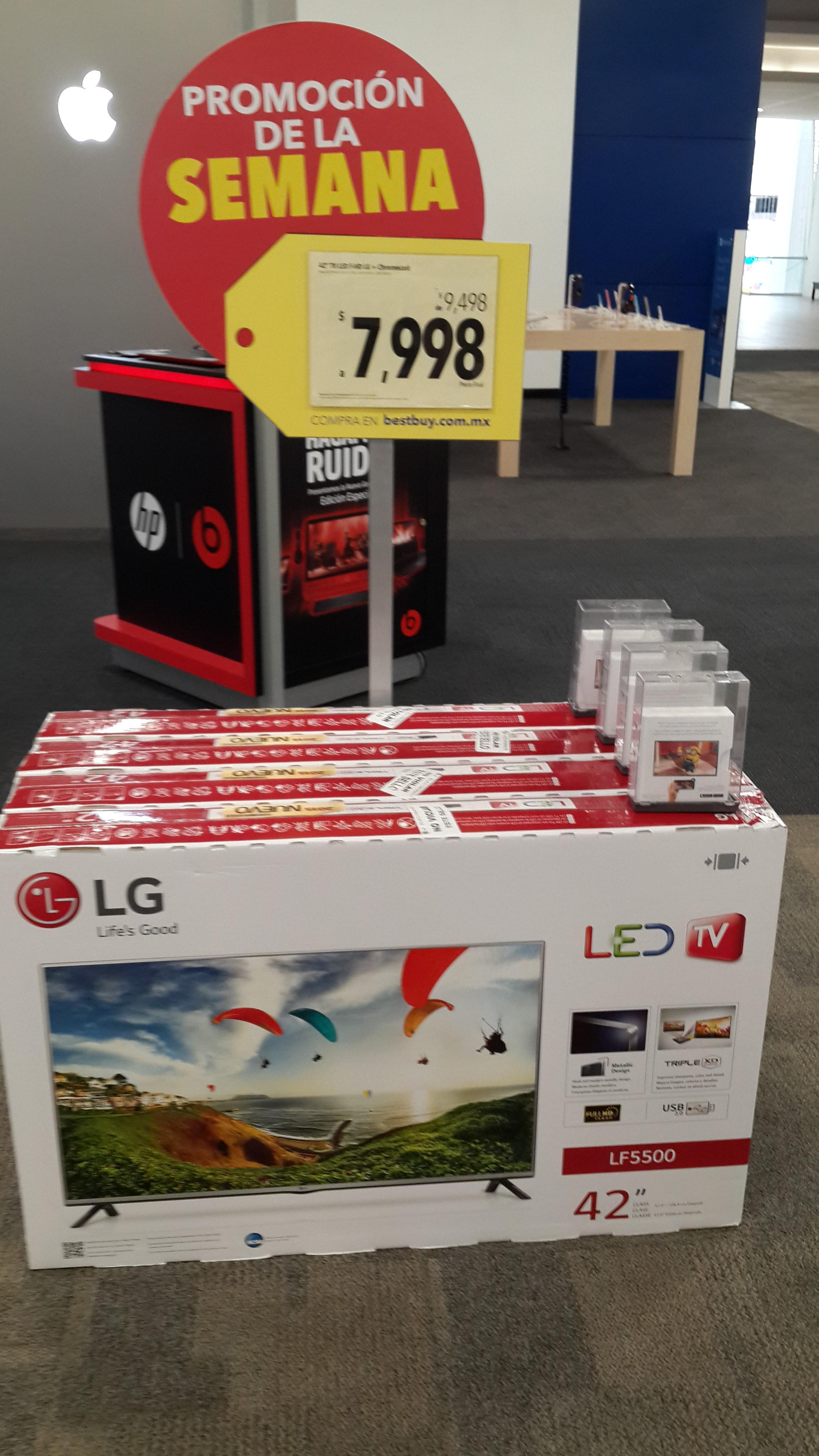 "Bestbuy: LG TV LED 42"" $7,998"