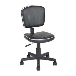 Office Max: Silla Secretarial Sid Polipiel Negro