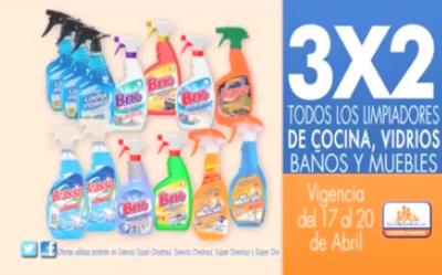 Chedraui: 3x2 en limpiadores, bonificación en pañales y más