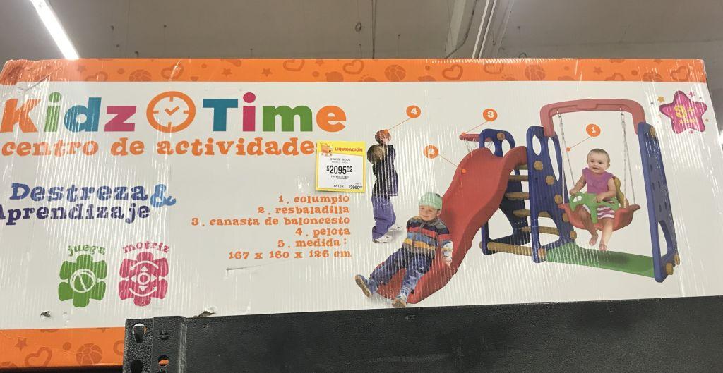 Walmart: centro de actividades Kidz Time y más