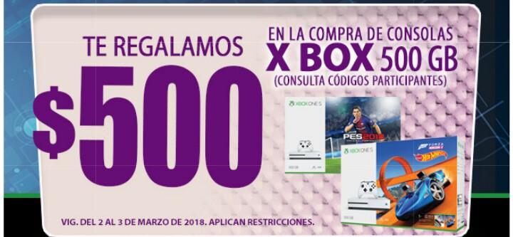 Comercial mexicana y MEGA: Ofertas de fin de semana (2x1 1/2 en jugos de 1L y en galletas saladitas o crackets... $500 de descuento en Xbox de 500Gb)