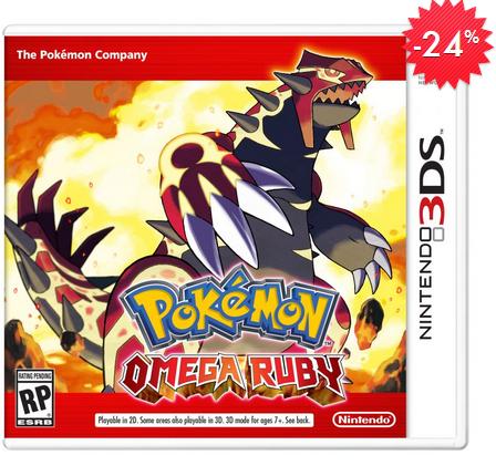 Linio: Pokemon Omega Ruby o Alpha Sapphire en $499 (envío gratis con Linio Plus)