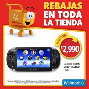 Walmart: PlayStation Vita $2,990