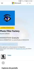 Microsoft Store: Photo filter factory