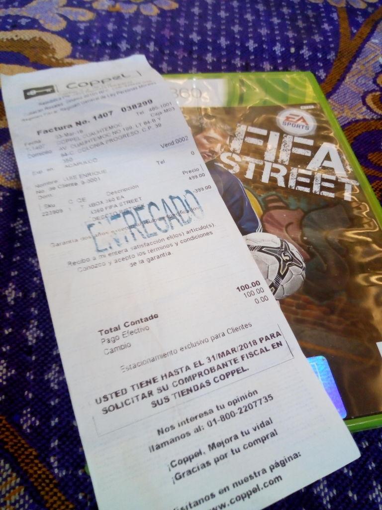 Coppel: FIFA Street para Xbox 360
