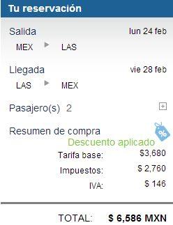 Aeroméxico: 2x1 en selección de vuelos internacionales