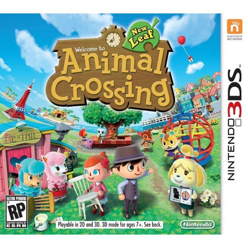 Linio: Animal Crossing New Leaf 3DS en $249