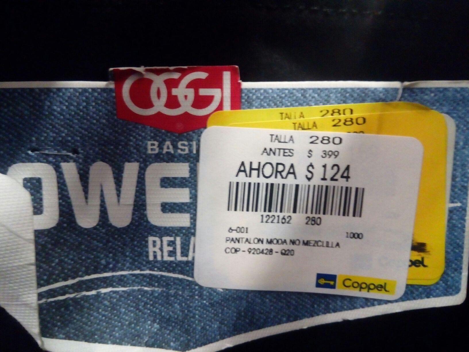 Coppel Zapopan: Oggi jeans negro a $124 y más